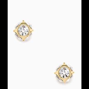 Kate spade lady marmalade gold stud earrings